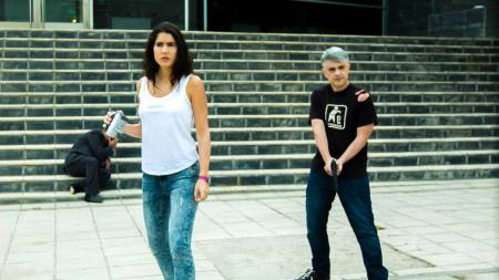Natalia Alvarez  y Paco Fox