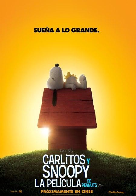 Carlitos y Snoopy_Poster teaser