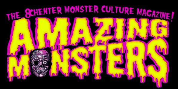 LOGO AMAZING MONSTERS para camiseta
