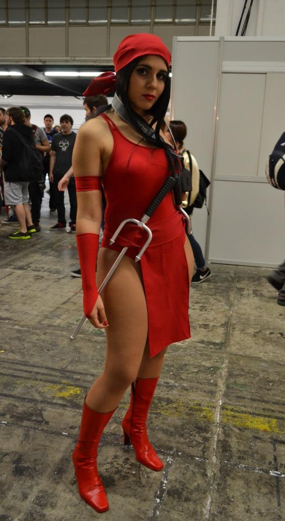 ... y hablando de Frank Miller... ¡Elektra!