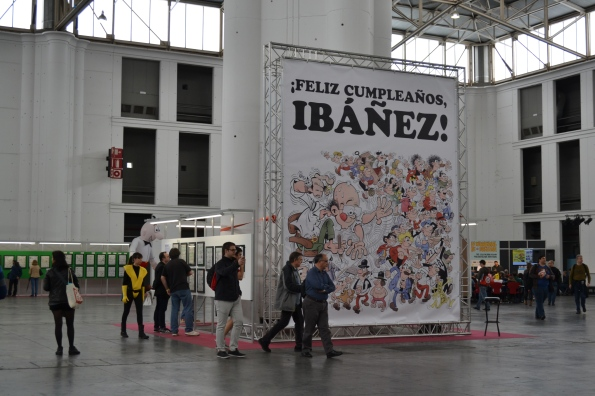 Ibáñez, el gran protagonista del Salón del cómic 2016