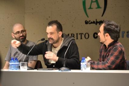 John Tones, Nacho Vigalondo y Koldo Serra