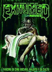 EXHUMED MOVIES 10 PORTADA