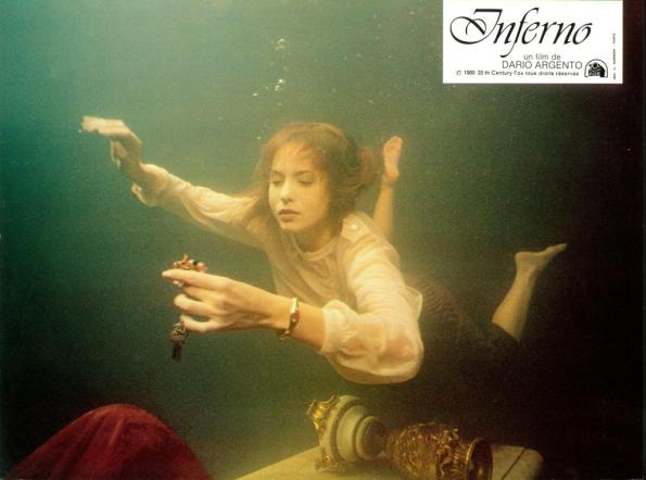 INFERNO, Irene Miracle, 1980, TM & Copyright (c) 20th Century Fox Film Corp. All rights reserved.