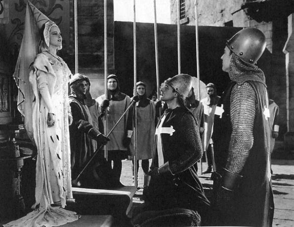 Como dama medieval, antes de ser ejecutada...
