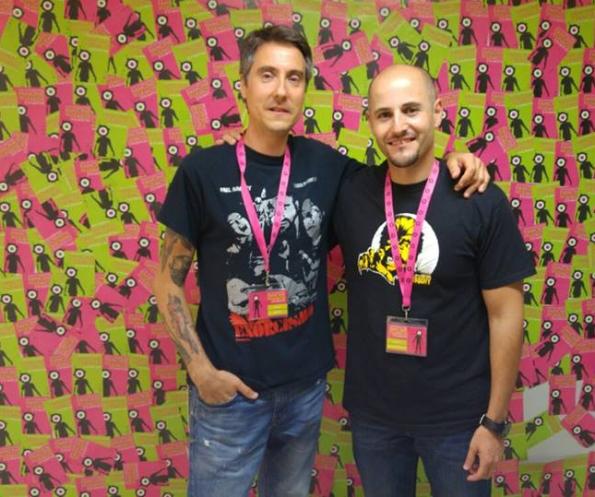 Diego López y Sergio Molina
