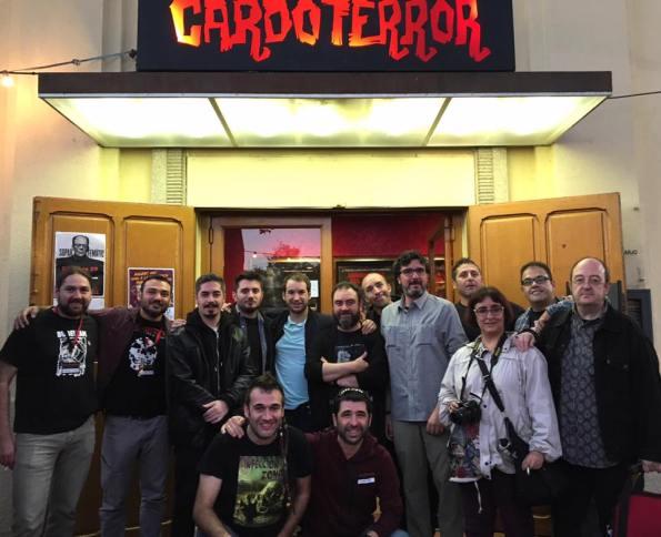 Lo mejor, ya les hemos contado, el reencuentro con tantos amiguetes... (Foto: Marta Arteaga gentileza de Quim Crusellas)