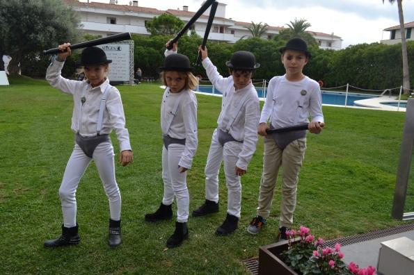 Estos pequeños drugos se pasearon por el jardín del Melià ¿no son adorables? (Foto: Serendipia)