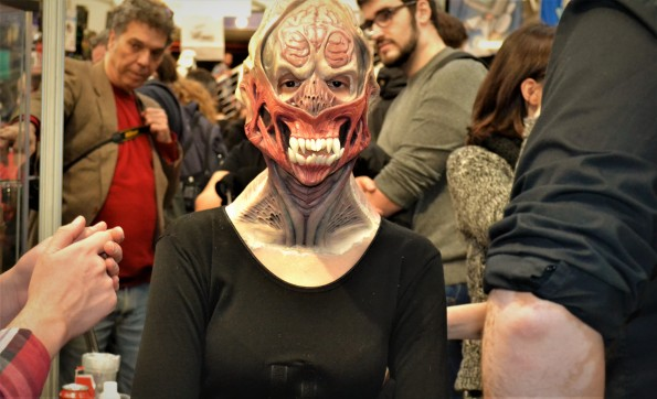 ... horribles alienígenas...